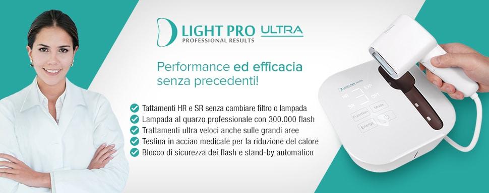 D Light Pro Ultra Caratteristiche Specifiche Tecniche